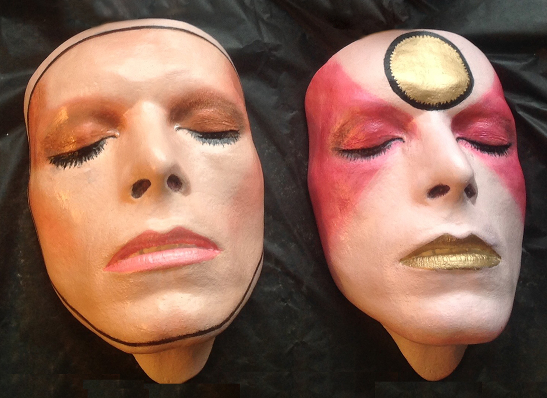 Pin-ups and Kabuki Life Masks