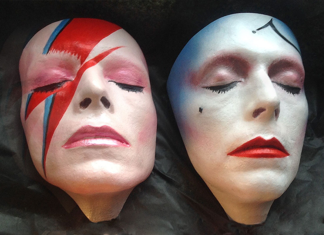 Bowie Life Masks